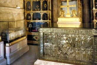 Camara Santa donde se encuentran las Reliquias