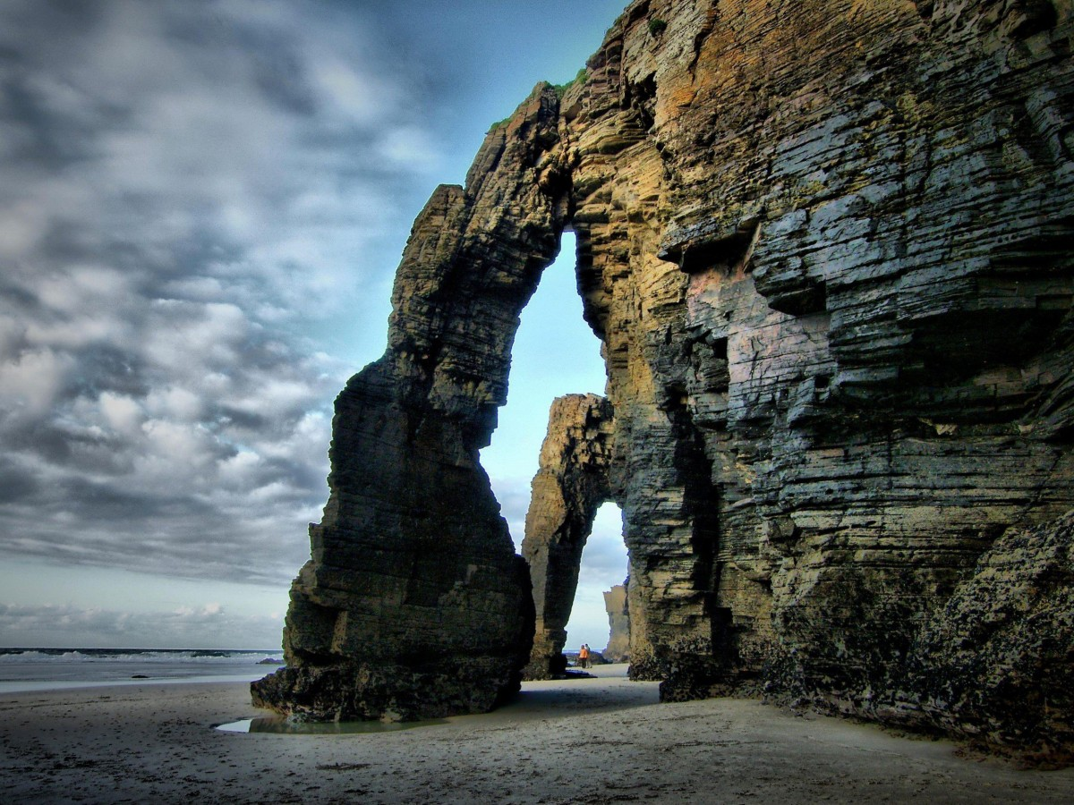 playa de las catedrales llanes