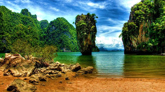 La-isla-de-Ko-Tapu-en-Tailandia