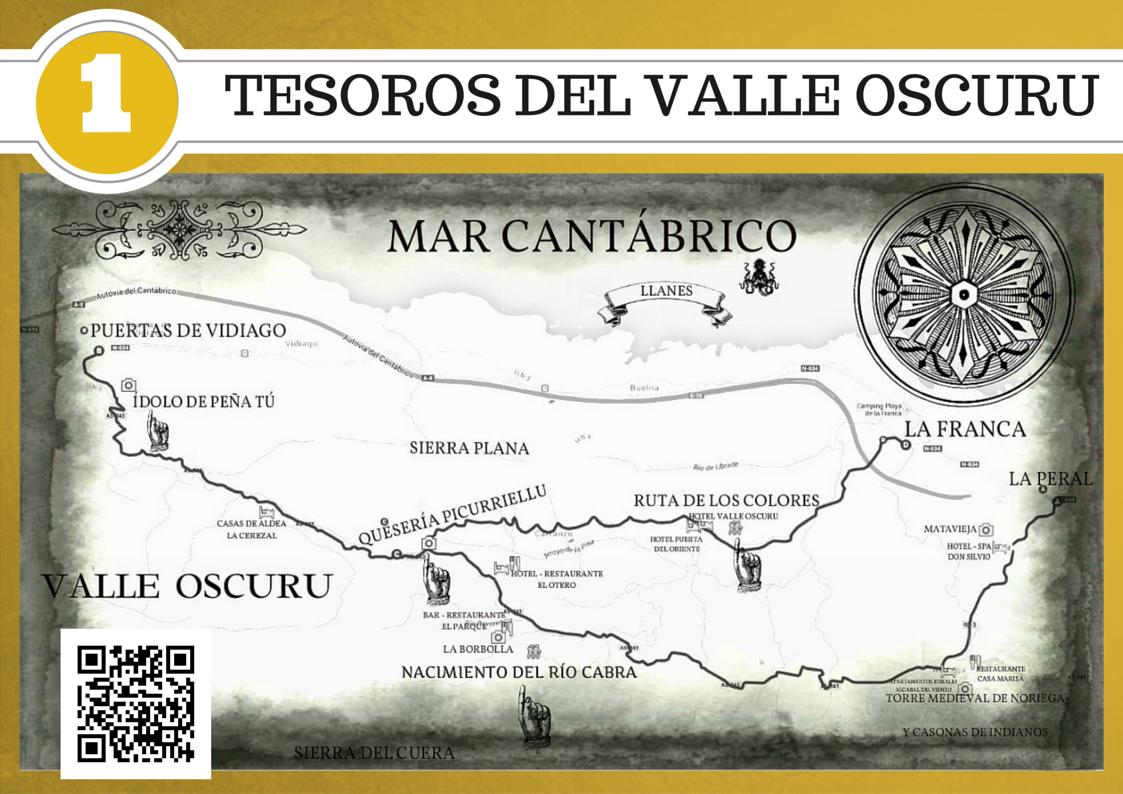 TESOROS DEL VALLE OSCURO QR GOOGLE