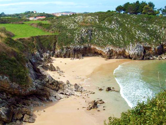 Playa de El Portiellu